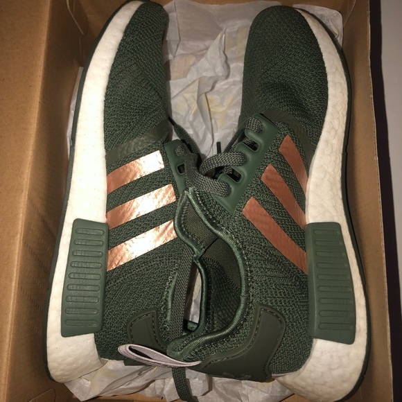 adidas Shoes | Nmdr Green And Rose Gold